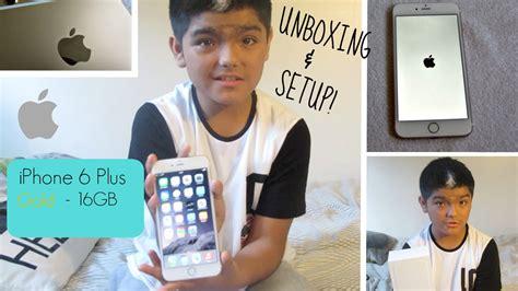 Hdc Max Iphone 7 Plus 16gb iphone 6 plus gold 16gb unboxing setup