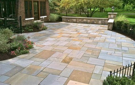 Backyard Kitchens Bluestone Patio Green Source Ohio