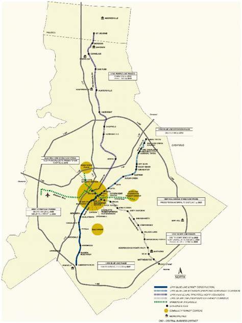 lynx light rail schedule s lynx light rail open for business 2007
