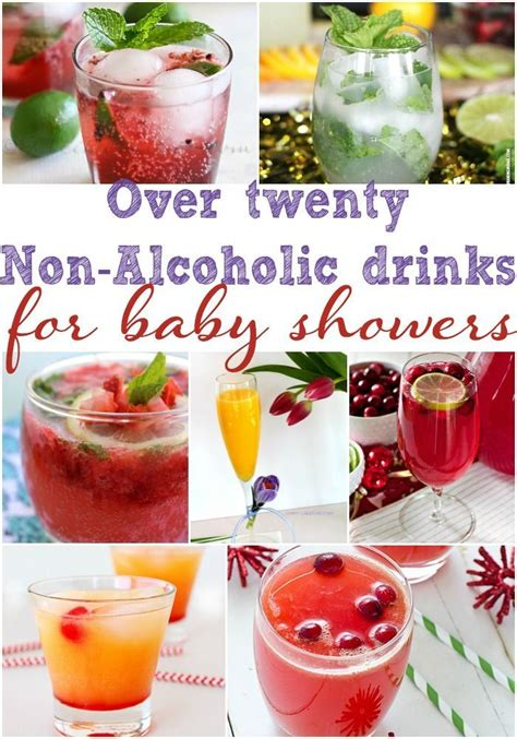 baby shower cocktail ideas 25 best ideas about baby shower drinks on