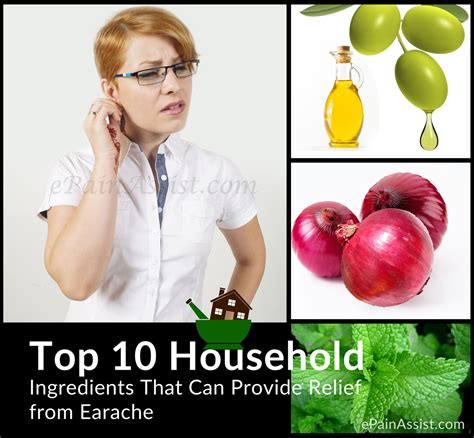earache home remedies top 10 household ingredients that