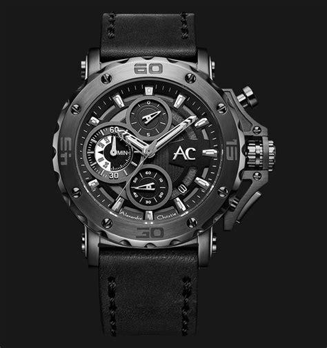 Jam Tangan Alexandre Christie Ac 9205 alexandre christie ac 9205 mc lepba chronograph black