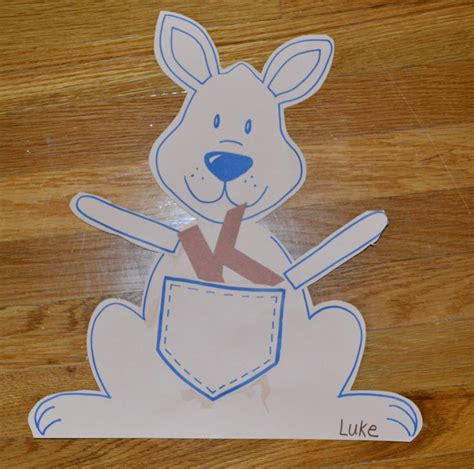 Kangaroo Paper Plate Craft - kangaroo paper plate craft www imgkid the image