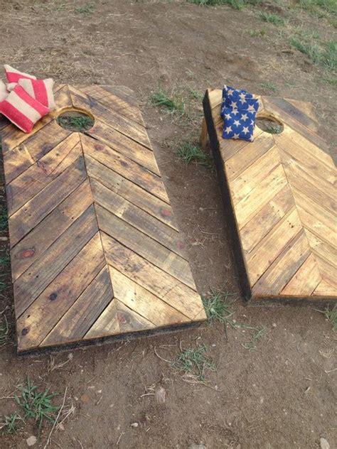 diy wooden bean bag toss rustic corn boards made from reclaimed wood diy