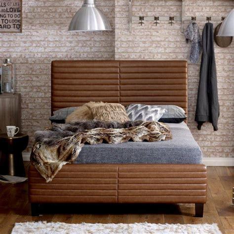Frame Ezra ezra bonded leather bed frame upholstered beds fads