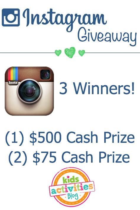 Free Instagram Account Giveaway - instagram to win 650 worth of cash prizes