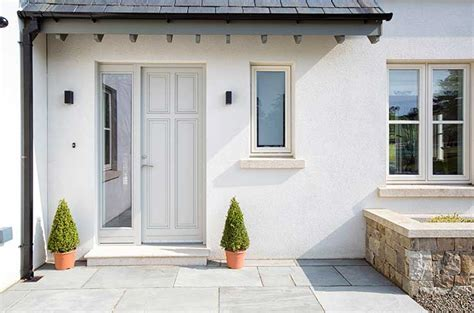 Modern House Door windows ireland windows dublin rationel