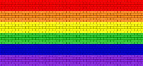 What Pattern Is The Rainbow   rainbow flag bead pattern peyote bead patterns simple