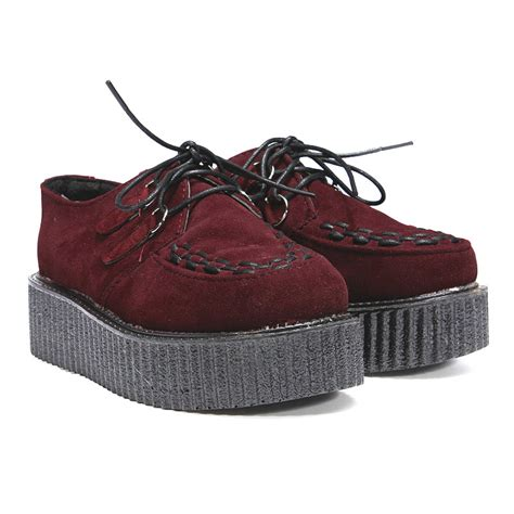 womens shoes oxfords 2017 womens creepers platform lace up wedge oxfords chunky