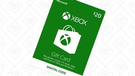 20 Xbox One Gift Card - this xbox gift card discount is modest but still worth it
