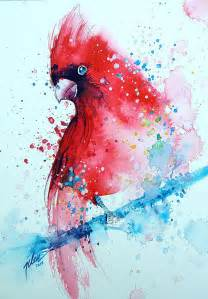 colorful animal paintings splashed watercolor paintings by tilen ti bored panda