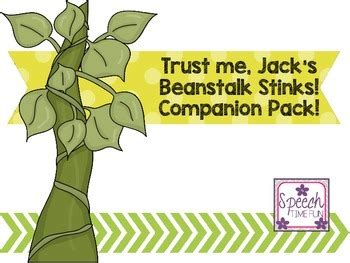 trust me jacks beanstalk trust me jack s beanstalk stinks companion by speech time fun tpt