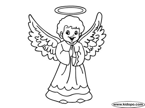 angel outline coloring page outlines of angels new calendar template site