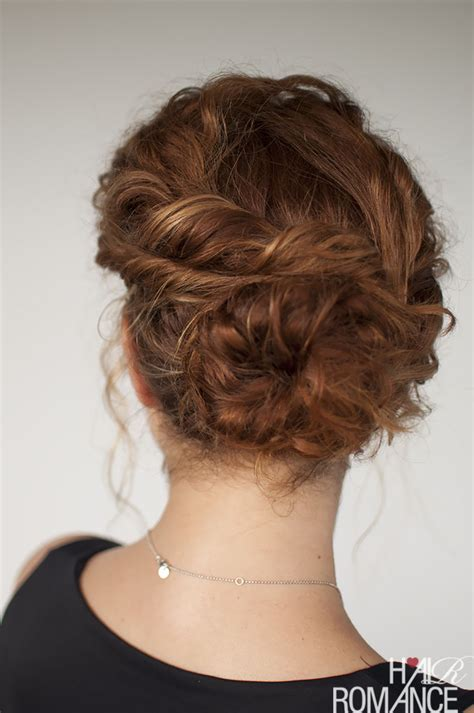and easy curly hairstyles curly hair tutorial easy twisted bun hairstyle hair