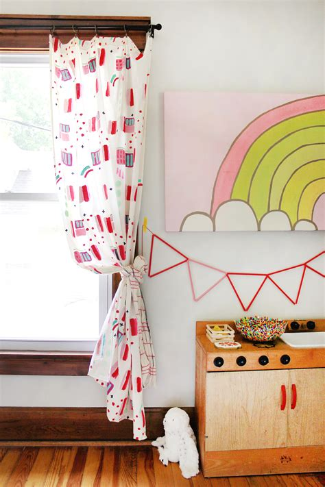 painted curtains try this hand painted abstract curtain panel diy a