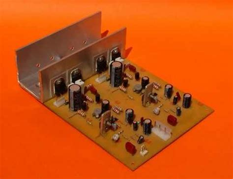 3055 transistor lifier kit 100w transistor lifier circuit tip3055 electronics projects circuits