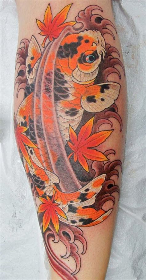 Koi Tattoo Chris Garver | spotted koi tattoo by chris garver senses lost