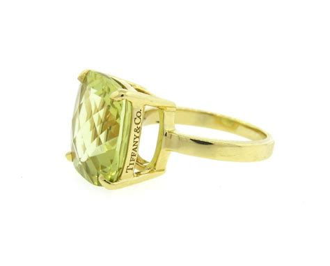 and co sparklers yellow citrine gold ring at 1stdibs
