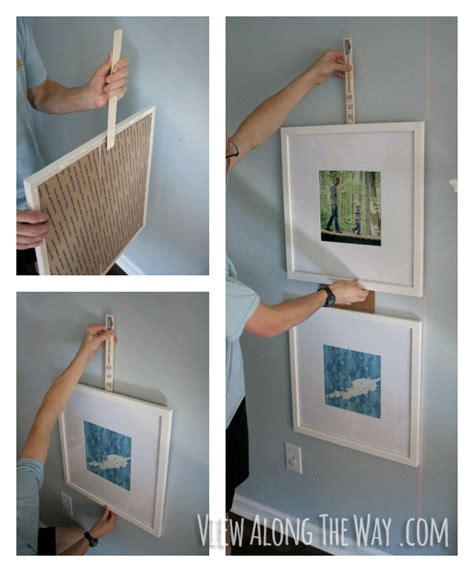 how to hang frames diy picture frame wall oversized picture frames in a