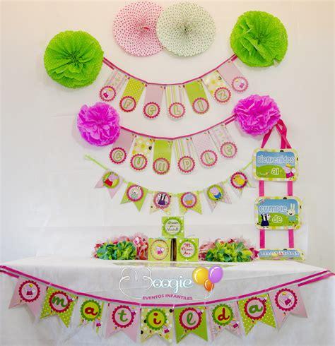 carteles de cumpleaos de pepapig peppa pig en verde y rosa la fiesta de felipe elo7