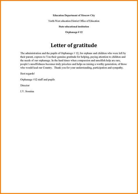thank you letter notes sles gratitude letter template 28 images thank you letter