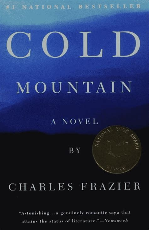 a cold cold books charles frazier cold mountain 1997 literature and war