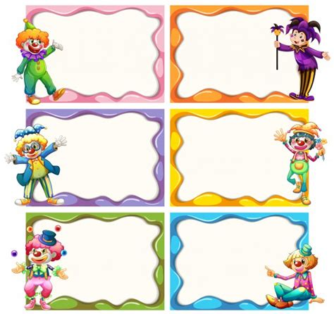Free Photo Frames Templates by Frame Template With Jesters Vector Free
