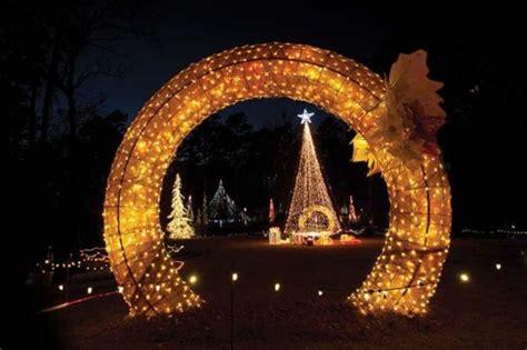 garvan gardens christmas lights springs arkansas travel blog insider tips