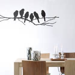 ferm living love birds wall sticker panik design flower vine wall sticker diy home decoration removable