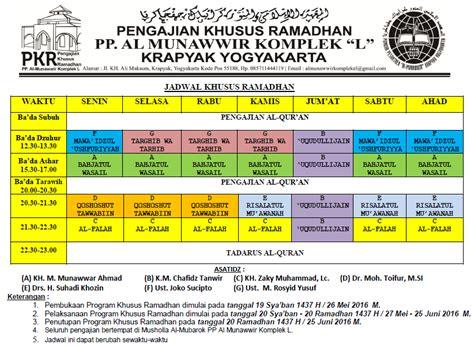 Topi D 1 Al Munawwir pengajian khusus ramadhan 2016 m 1437 h ponpes al