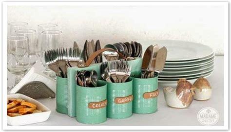 cara membuat tempat jemuran cara membuat tempat wadah sendok dari kaleng bekas