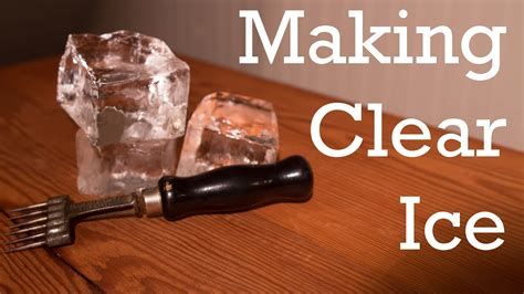 make home making clear ice from better cocktails at home youtube