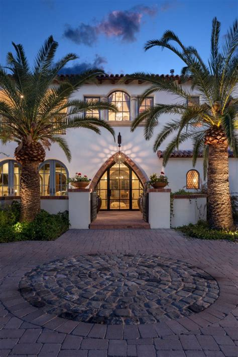 tempting mediterranean entrance designs stun