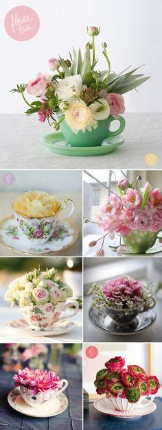 diy floral arrangement with little miss lovely teacup flower arrangement sweet mother s day or birthday
