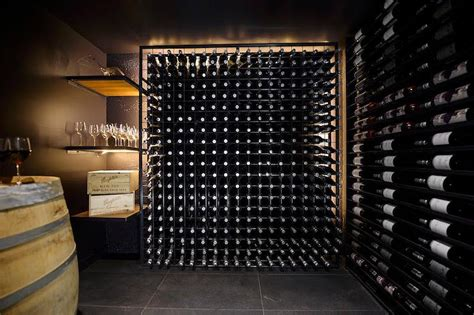 wine cellar in basement basement wine cellar with block wine rack contemporary