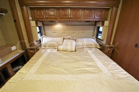 rv with king size bed motorhome comfortable king size bed inside the slider rv