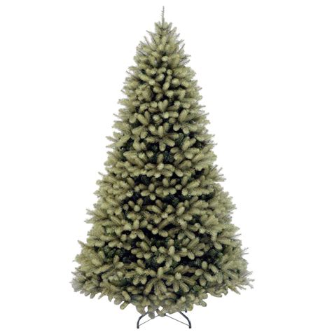 home depot 9 foot douglas fir artificial treee national tree company 7 ft feel real swept douglas fir hinged artificial tree