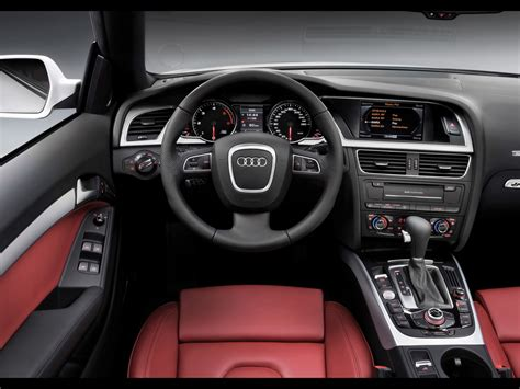 audi dashboard a5 2010 audi a5 convertible dashboard 1280x960 wallpaper