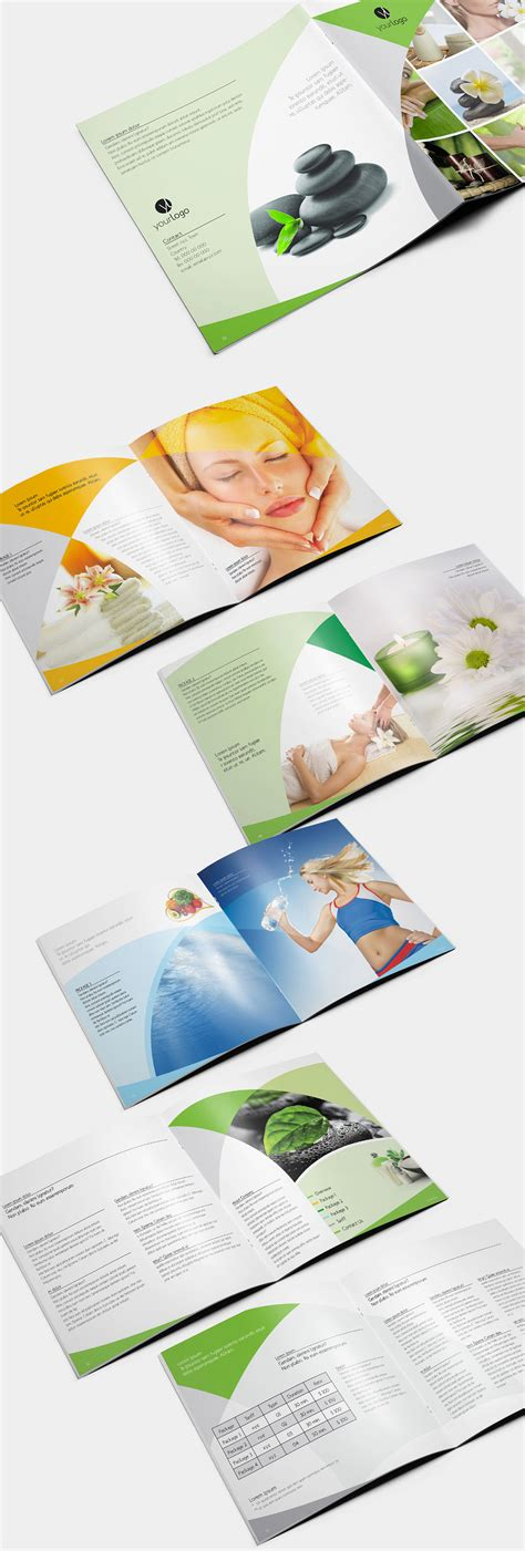 pop up brochure template collection of appealing spa brochure design ideas naldz