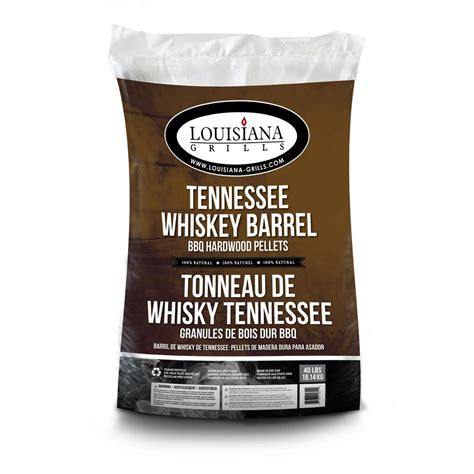 louisiana grills 40 lb tennessee whiskey barrel hardwood