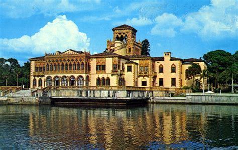 Sarasota Florida Court Records Florida Memory Ringling Residence From Sarasota Bay Sarasota Florida