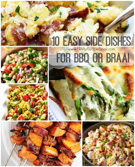 10 easy side dishes for bbq or braai fill my recipe book