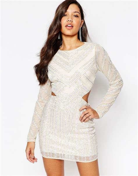 Mini Dress Plisket Premium Merahhitamgrey missguided missguided premium cutout waist mini dress at asos