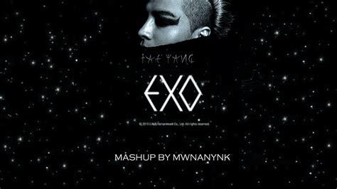 exo lightsaber mp3 download exo x taeyang ringa saber mashup youtube