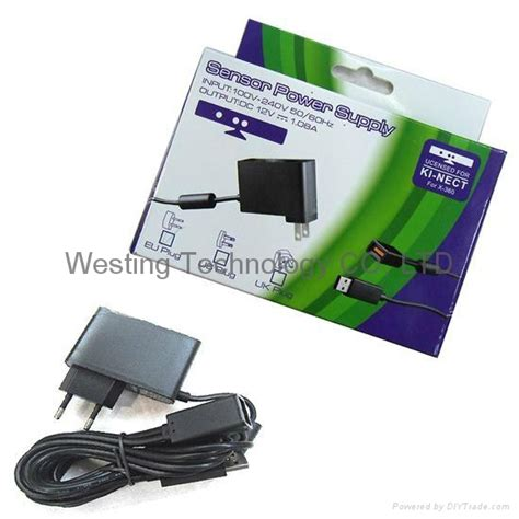 Sale Xbox Adaptor Kinect Original ac adapter power supply for xbox360 kinect sensor eu hxb3k041 westingames hong kong