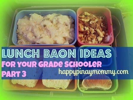 school lunch baon ideas part  happy pinay mommy