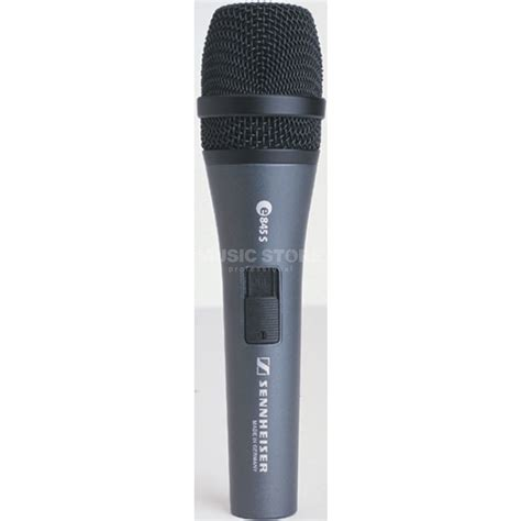 Mic Kabel Sennheiser E 845 E845 E 845 Original sennheiser e 845 s evolution dynamic microphone switch