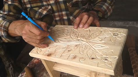 tallado de madera artesano de lurinlima peru youtube
