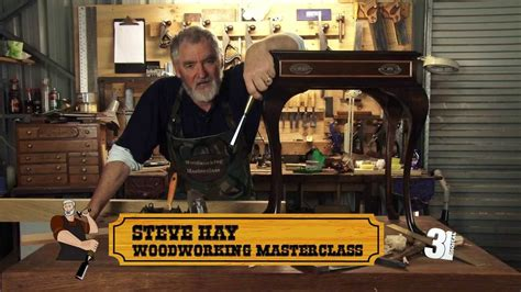 Woodworking Masterclass Coming Soon