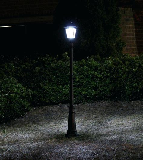 installing outdoor pole lights